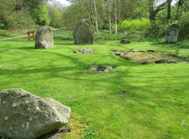 Balbirnie Standing Stones 3