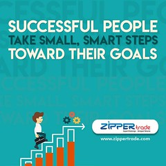 Successful People Take Small, Smart Steps Toward Their Goals.