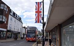 Flying the flag for Stagecoach - Kenilworth, Warwickshire