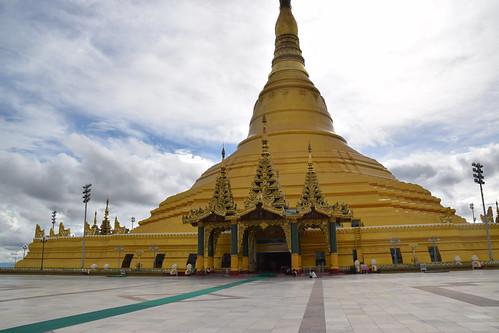 Naypyidaw - obecna stolica Myanmar