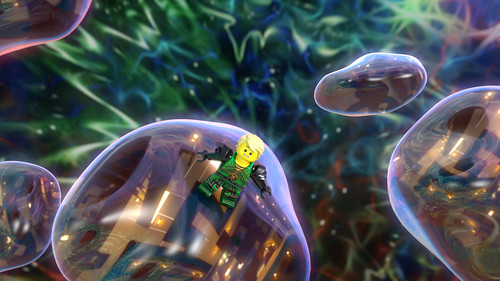 LEGOLAND California LEGO Ninjago: Master of the 4th Dimension