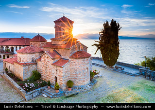 Macedonia (FYROM) - Ohrid Lake & Monastery of Saint Naum at Sunset