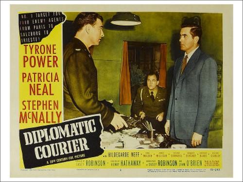 Diplomatic Courier - lobbycard 3