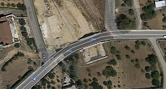 Ponte via Conversano - La situazione attuale