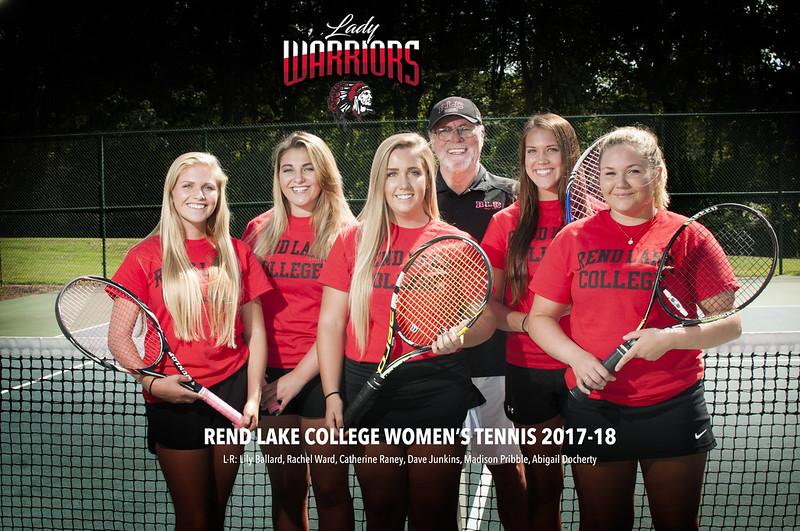 Rend Lake College Women's Tennis 2017-2018