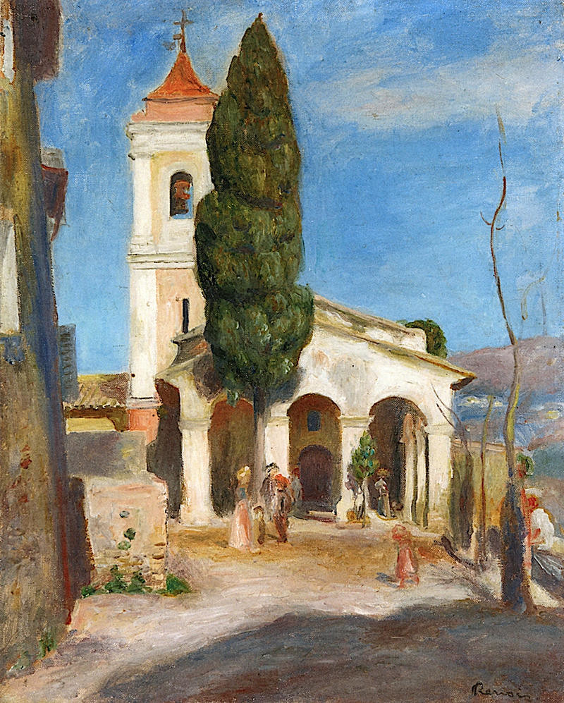 Chapel of Our Lady of Protection, Cagnes by Pierre Auguste Renoir, 1905
