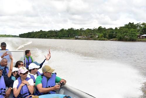 Visita humanitaria en el Litoral del San Juan, Chocó