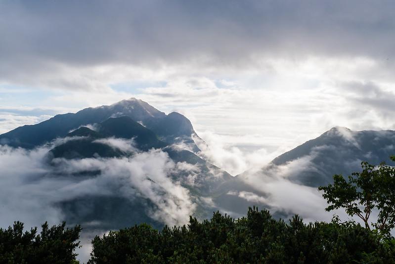 Mt.Kai Komagatake & Mt.Kurisawa