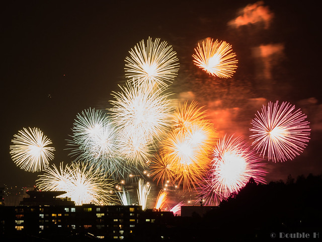 distant view of Biwako Fireworks Festival 2017 (13)