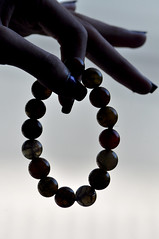 Wrist beads