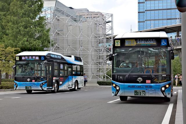 2017/08/12 東京都交通局 B101/B102