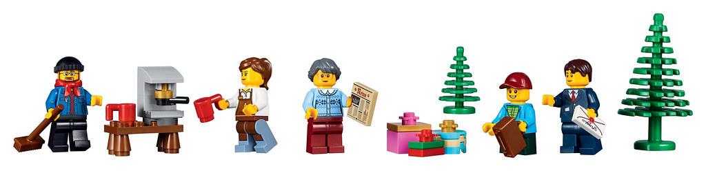 LEGO Creator Expert 10259 - Winter Village Station