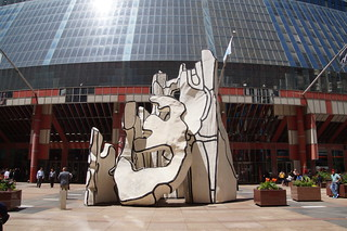 258 Dubuffet's Monument With Standing Beast