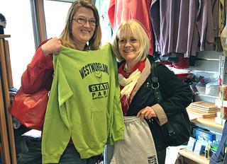 Park merchandise tshirts souvenir gift shop Westmoreland State Park