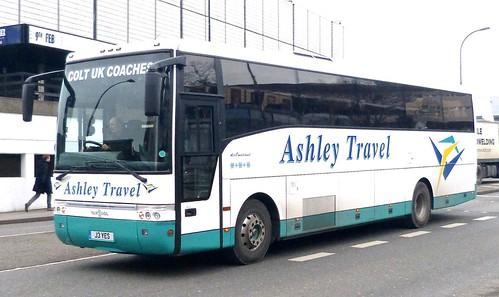 J3 YES 'Ashley Travel' Volvo B10M / Van Hool Alize on 'Dennis Basford's railsroadsrunways.blogspot.co.uk'