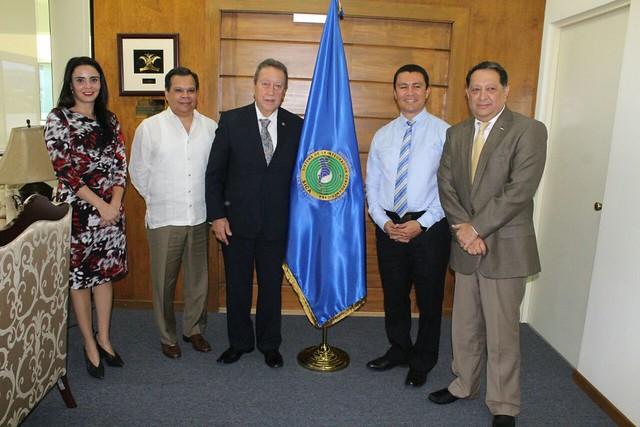 Secretario General del SICA, Vinicio Cerezo y Secretario de Estado de la Presidencia de Honduras dialogan sobre oportunidades de Desarrollo en el Golfo de Fonseca