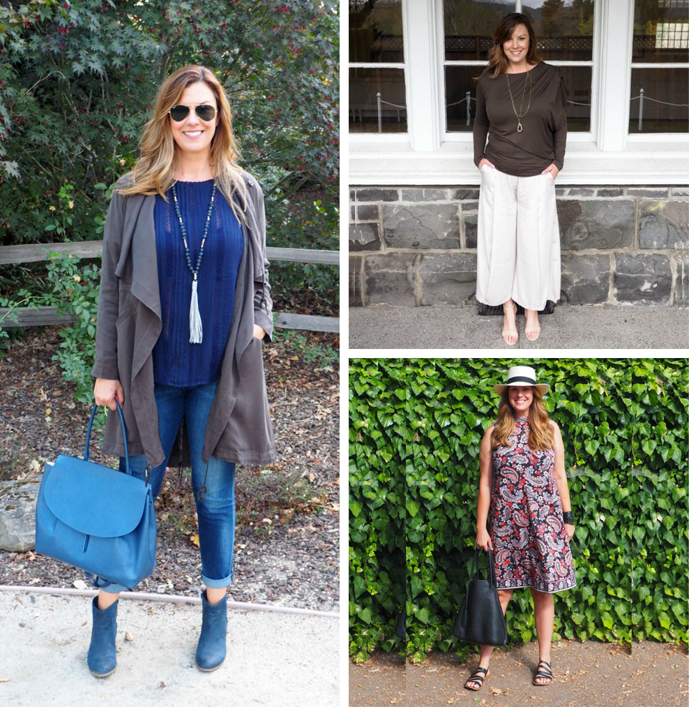 9 Mid-Size Fashion Bloggers (Adrienne - The Rich Life in Wine Country)