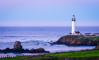 Pigeon Point Lighthouse at Dawn