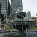 Dog fountain Berczy Park Toronto (3)