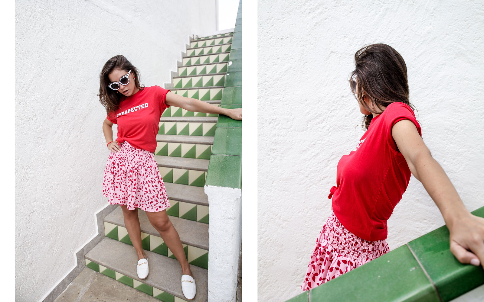 08_falda_NAKD_descuento_shop_online_theguestgirl_morinko_red_shirt_unexpected_influencer_barcelona_blogger
