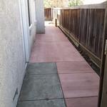 New Sideyard Walkway in Fairfield