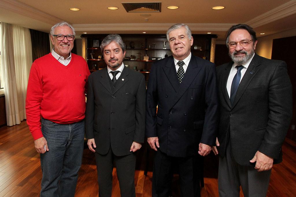 Reunião Ministro Salvador Meden Peláez e Cônsul Geral do Paraguai