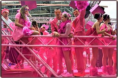 The Street Parade, Zurich 2017 – A dynamic and colourful event: Pink