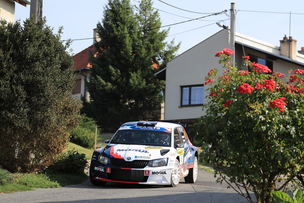 09 KRESTA Roman(CZE) STARY Petr (CZE) Skoda Fabia R5 action during the 2017 European Rally Championship ERC Barum rally,  from August 25 to 27, at Zlin, Czech Republic - Photo Jorge Cunha / DPPI