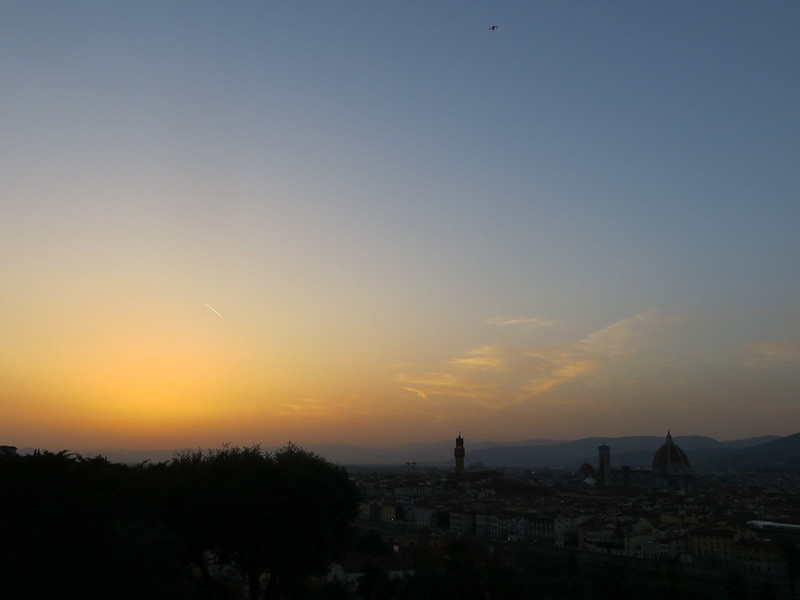 Sunset over Florence III