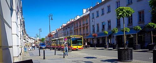 Warszawa-Trakt Królewski-Der Königsweg