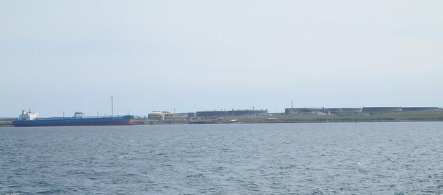 Tanker and Rinnigill OilTerminal, Flotta