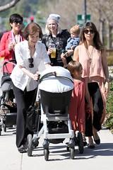 Kris Jenner, Kourtney, & Kids