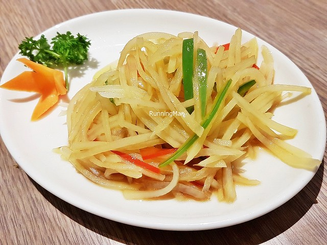 Shredded Potatoes With Capsicum