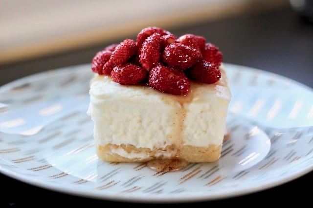 Wild Strawberry Ricotta Cheesecakes - 23