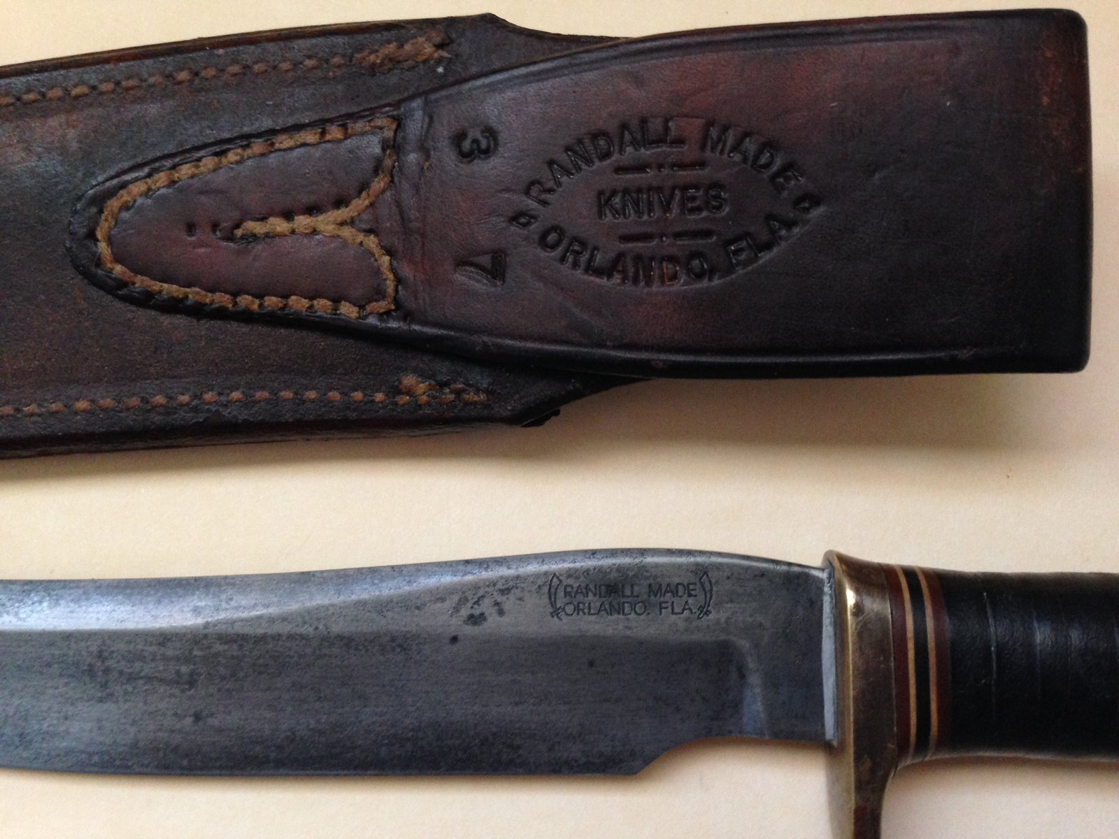 Three other Randall knives are shown in Fig.