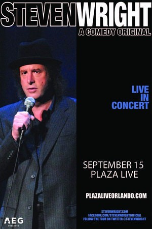 Steven Wright's 'Absurdist' Comedy at The Plaza Live/Orlando