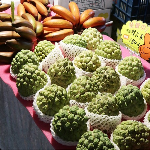 台湾っぽいフルーツ。 #饒河街観光夜市 #台北 #台湾 #食べ歩き