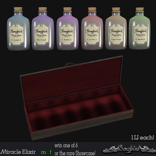 ~Songbird~ Miracle Elixir - SecondLifeHub.com