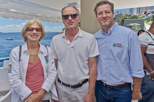 SYLVIE VIANT, RENÉ BOULAIRE E GILDAS GAUTIER