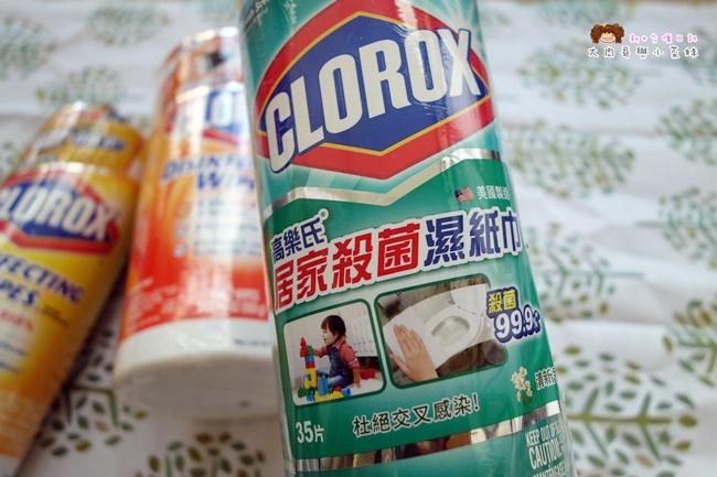 美國CLOROX高樂氏居家殺菌濕紙巾 (2).JPG