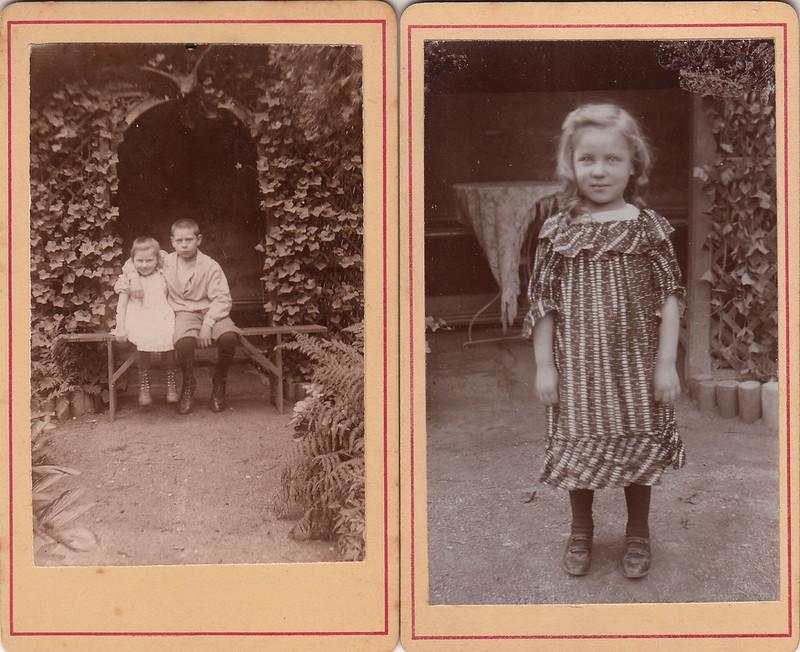 Goldilocks in the garden (c.1895)