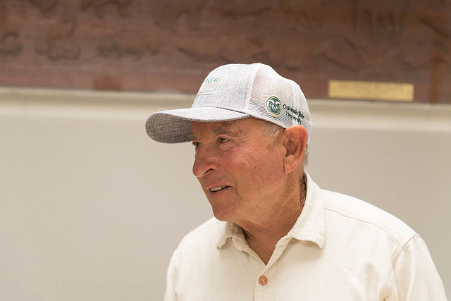 Yvon Chouinard  Visits Colorado State University
