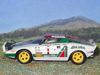 Lancia Stratos - Montecarlo 1977