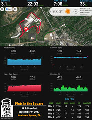 Pints in the Square 5K Stats 17