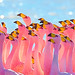 Small photo of Flamingos, Bolivia