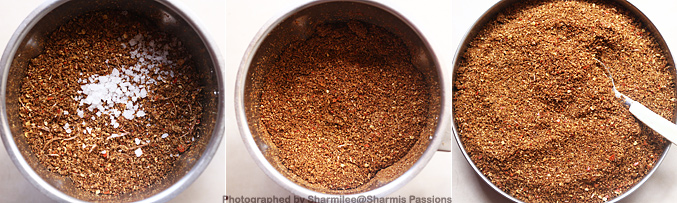 How to make poondu dhania podi recipe - Step1