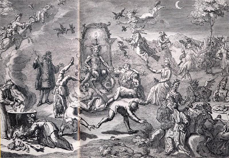 Claude Gillot - The Witches Sabbath