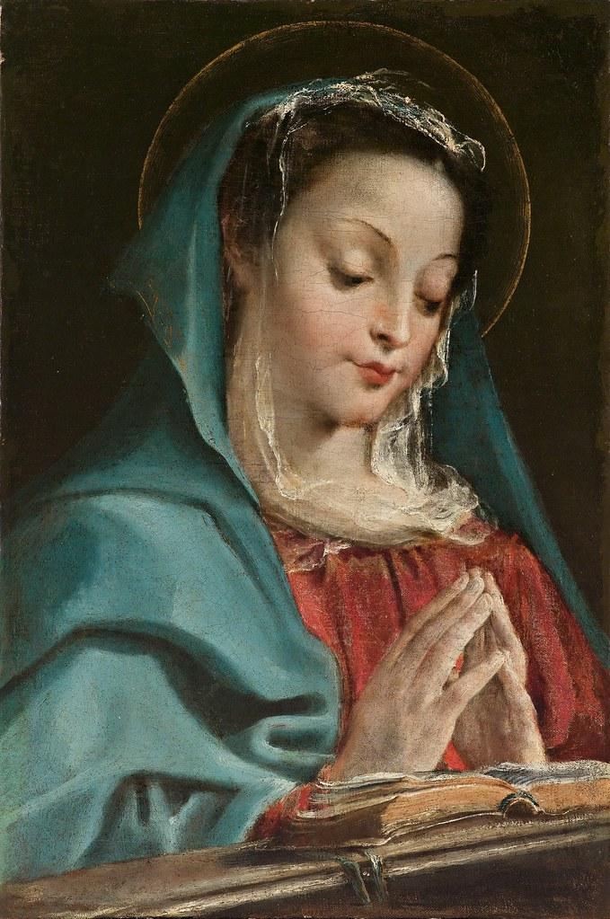Annibale Carraci - The Virgin in prayer