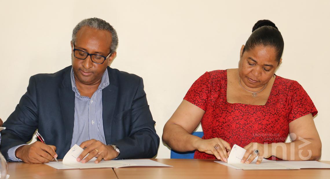 Assinatura de Protocolo entre a Uni-CV e o NOSi