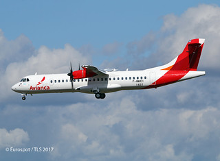 F-WWEI ATR72 AVIANCA
